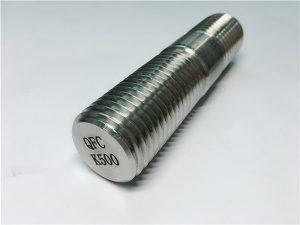 எண் 62-மோனல் கே 500 திரிக்கப்பட்ட தடி